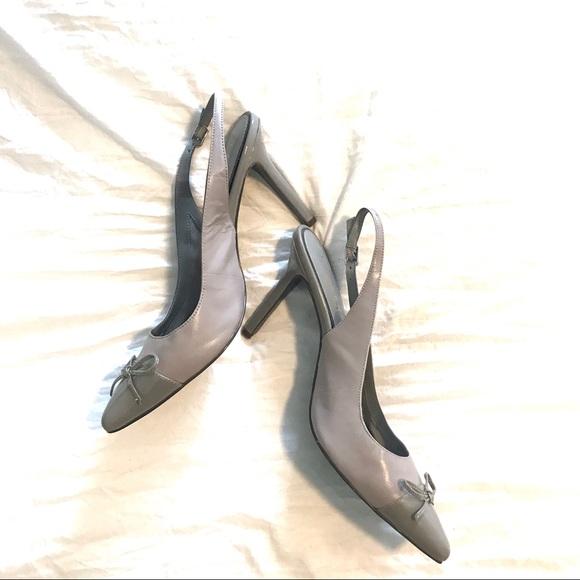 Ralph Lauren Sienna Slingback Heels